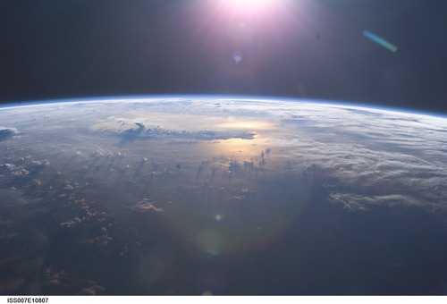 Earth from the ISS - NASA